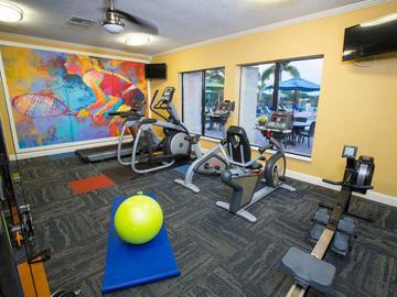Fitness Center - Ridgeview at Garden Mills - Prattville, AL
