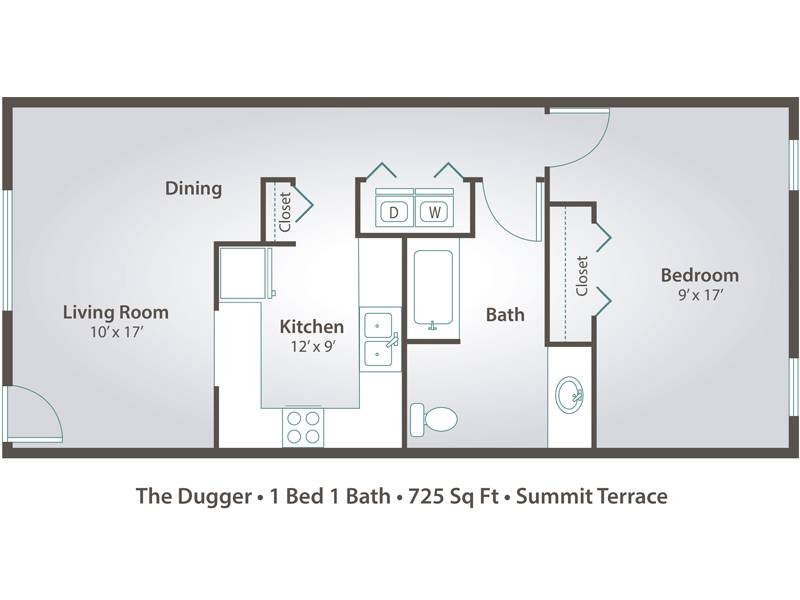 The Dugger - 1 Bedroom / 1 Bathroom Image