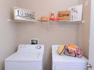 Washer and Dyer Connections - Summit Terrace - Prattville, AL