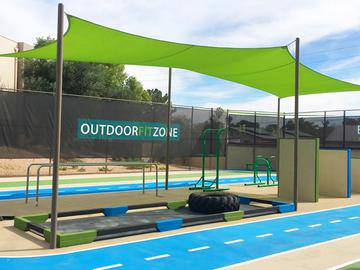 Outdoor Fit Zone - Beacon at 601 - Mesa, AZ