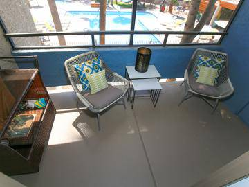 Screened-In Patio - Beacon at 601 - Mesa, AZ