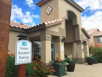 Clubhouse Exterior - Exchange on the 8 - Mesa, AZ