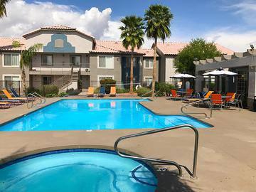 Resort-Style Pool & Spa - Exchange on the 8 - Mesa, AZ