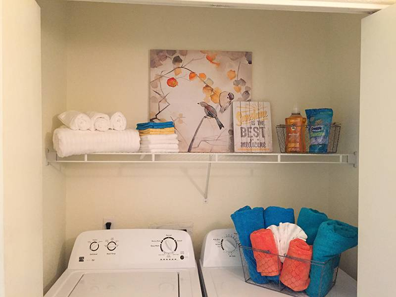 Laundry Room with Full Size Appliances