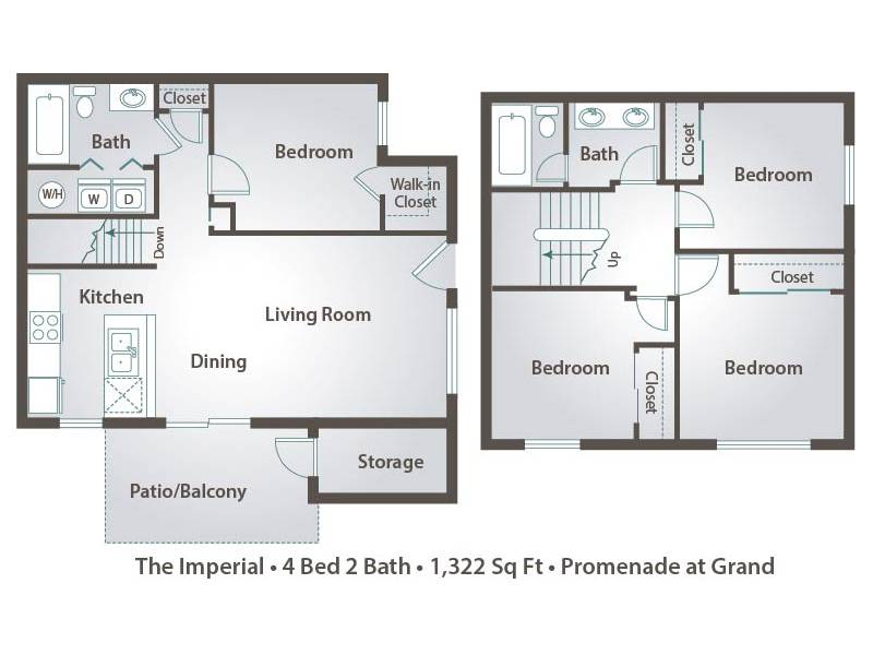 The Imperial - 4 Bedroom / 2 Bathroom Image