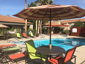 Poolside Loungers - Promenade at Grand - Surprise, AZ