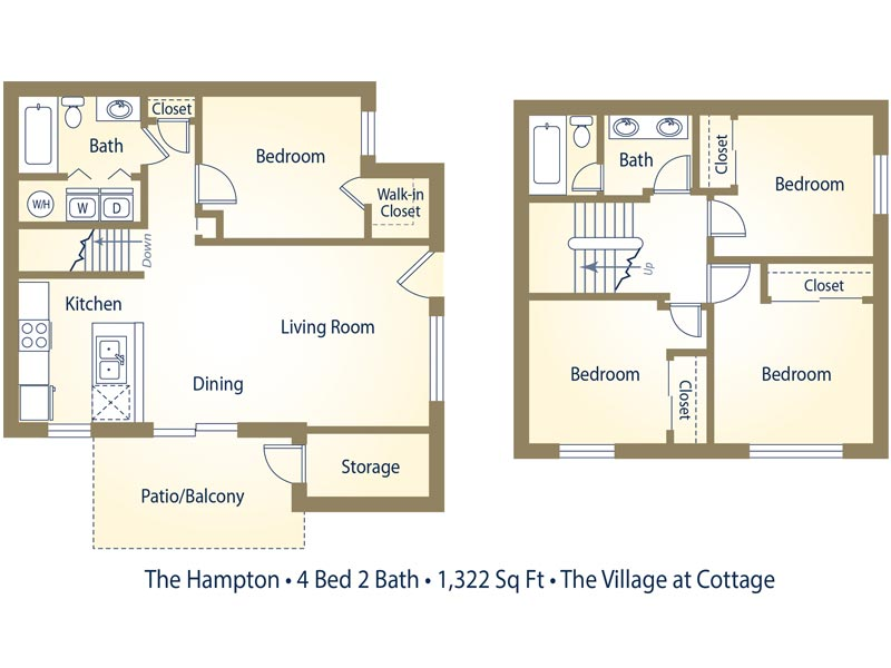 Cottage Park Apartments In Az Whelan Properties