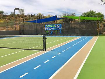 Tennis Court - Domain 3201 - Tucson, AZ