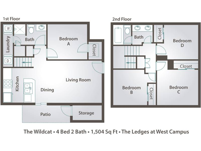 The Wildcat - 4 Bedroom / 2 Bathroom Image