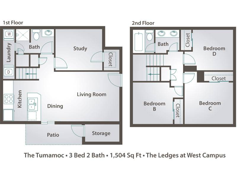 The Tumamoc - 3 Bedroom / 2 Bathroom Image