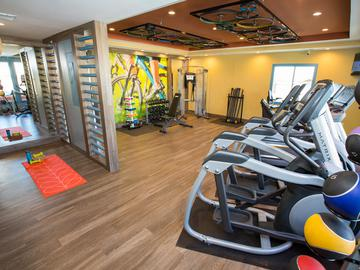 Fitness Center - The Ledges at West Campus - Tucson, AZ