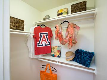 Walk-In Closet - The Ledges at West Campus - Tucson, AZ