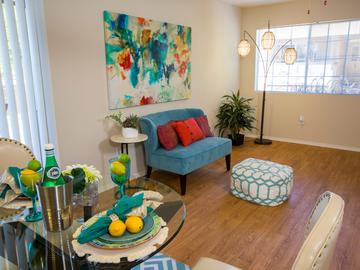 4x2 Living Room - The Ledges at West Campus - Tucson, AZ
