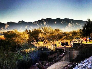Mountain View at Dusk - The Ledges at West Campus - Tucson, AZ