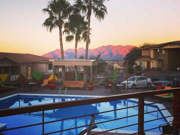 Sunset by the Pool - The Ledges at West Campus - Tucson, AZ