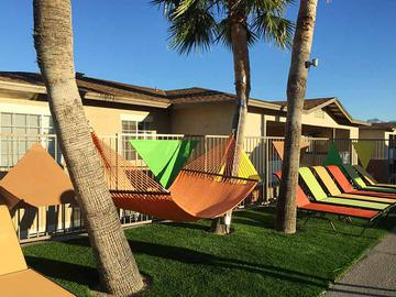 Poolside Hammock - The Ledges at West Campus - Tucson, AZ