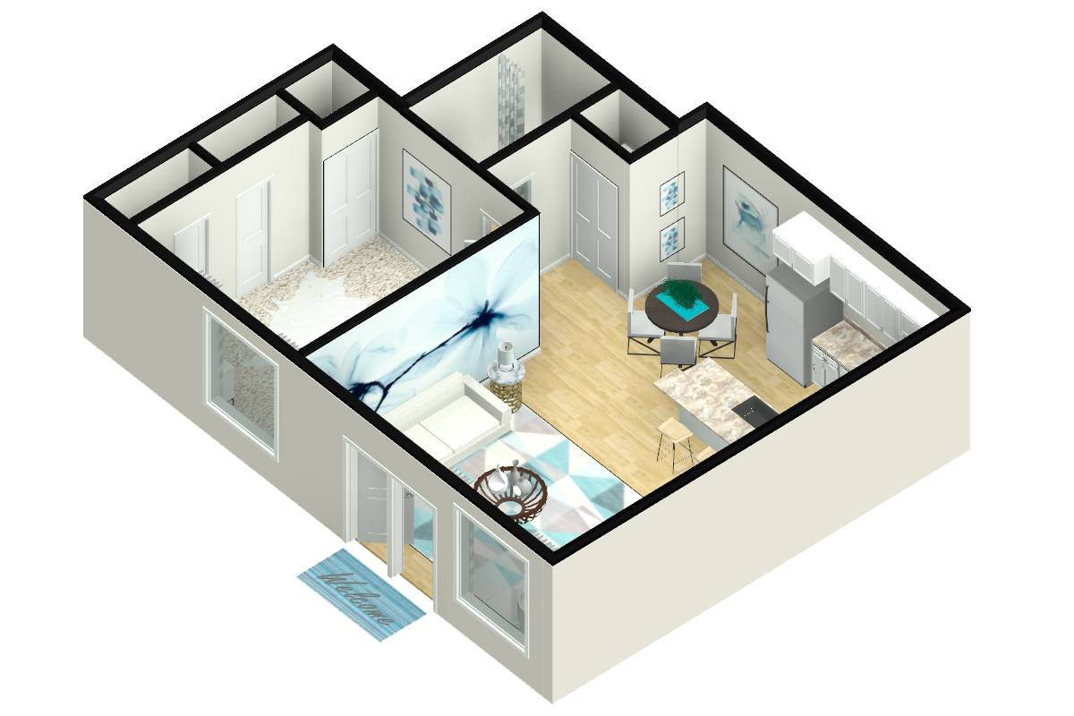 The Arcadian - 1 Bedroom / 1 Bathroom Image