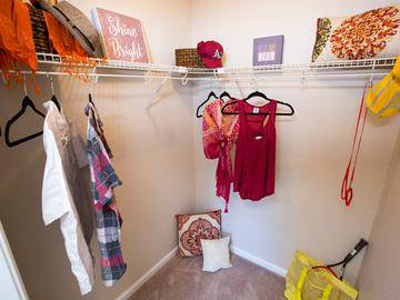 Walk-In Closets - Wellington at Chenal - Little Rock, AR