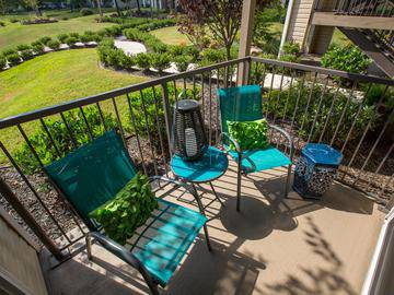 Private Patio - Wellington at Chenal - Little Rock, AR