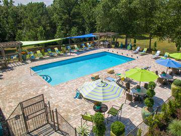 Aerial View of Pool - Wellington at Chenal - Little Rock, AR