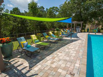 Sundeck with Grill - Wellington at Chenal - Little Rock, AR