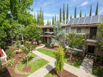 Courtyard - Abby Creek Apartment Homes - Carmichael, CA