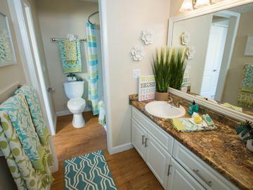 Bathroom - Abby Creek Apartment Homes - Carmichael, CA