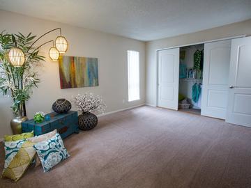 Bedroom - Abby Creek Apartment Homes - Carmichael, CA