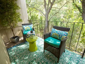 Patio/Balcony - Abby Creek Apartment Homes - Carmichael, CA