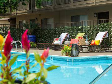 Resort-Style Swimming Pool - Abby Creek Apartment Homes - Carmichael, CA