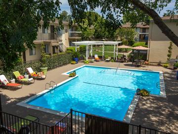Resort-Style Pool - Abby Creek Apartment Homes - Carmichael, CA