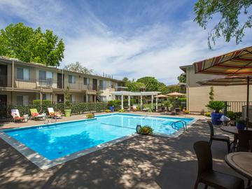 Sparkling Swimming Pool - Abby Creek Apartment Homes - Carmichael, CA