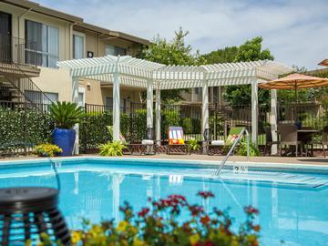 Poolside Trellis  - Abby Creek Apartment Homes - Carmichael, CA
