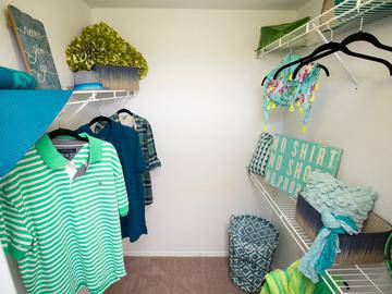 Walk-In Closets - Abby Creek Apartment Homes - Carmichael, CA