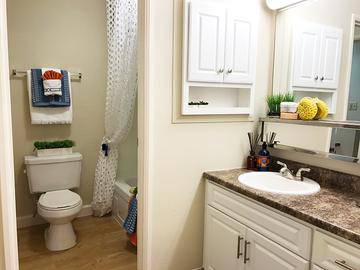 Master Bathroom - Cambridge House - Davis, CA