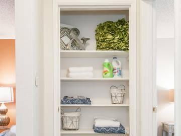 Linen Closet - Cambridge House - Davis, CA