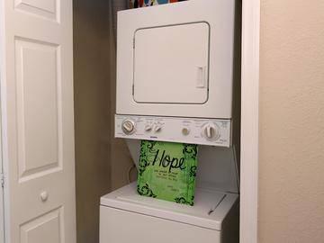 Washer and Dryer - Cambridge House - Davis, CA