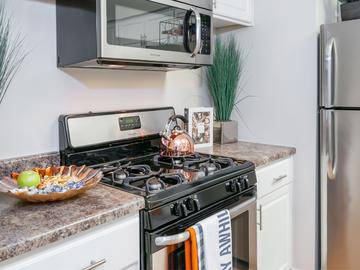 Stainless Steel Appliances - Cambridge House - Davis, CA