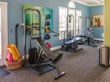 Fitness Center - Manchester Court - Modesto, CA