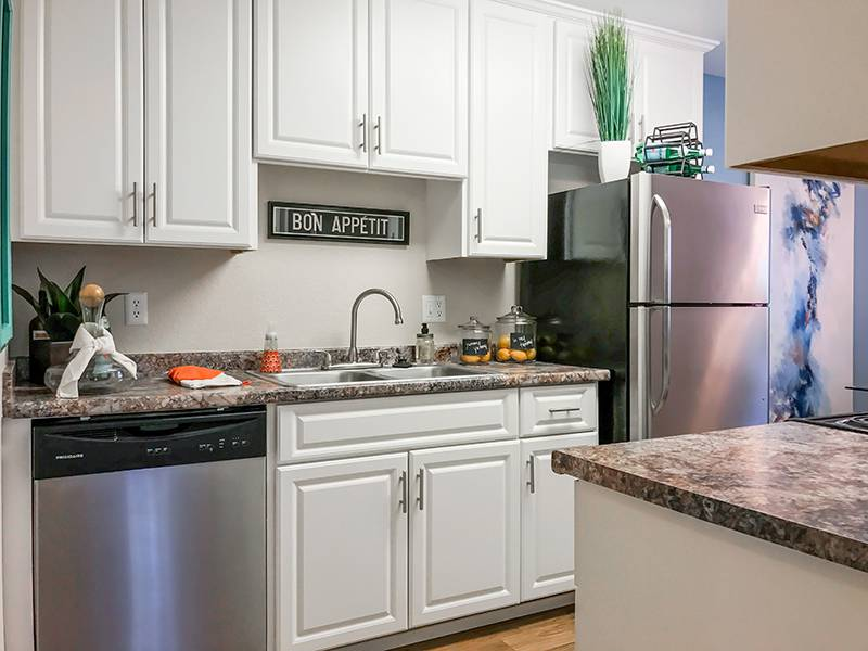 Kitchens with Stainless Steel Appliances