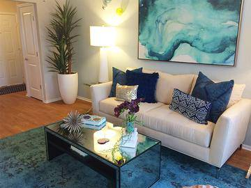 Living Room - Boca Winds - Boca Raton, FL
