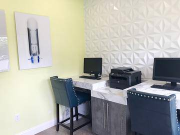 Business Center - The Laurels Apartment Homes - Fort Myers, FL