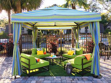 Poolside Cabanas - The Laurels Apartment Homes - Fort Myers, FL