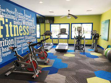 Fitness Center - The Laurels Apartment Homes - Fort Myers, FL
