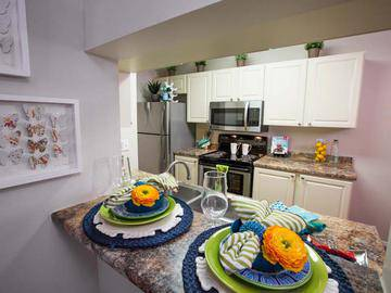 Upgraded Kitchen - Ridgemar Commons - Gainesville, FL