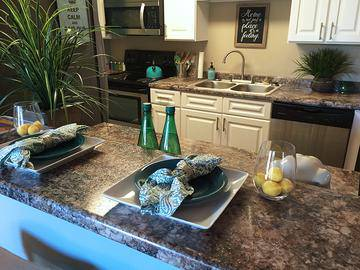 Granite-Style Counter Tops - The Fairpointe at Gulf Breeze - Gulf Breeze, FL