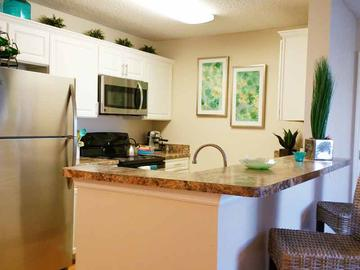 Kitchens with White Cabinets - The Fairpointe at Gulf Breeze - Gulf Breeze, FL