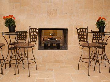 Clubhouse Fireplace - Bella Terraza - Jacksonville, FL