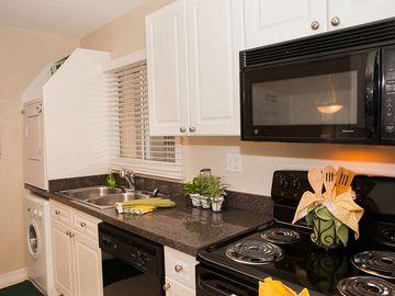Kitchen with Washer and Dryer - Bella Terraza - Jacksonville, FL