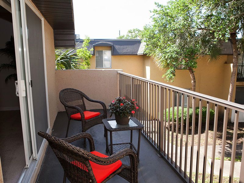 Private Patio/Balcony